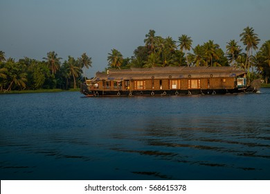 Houseboats in Alleppey, Kerala