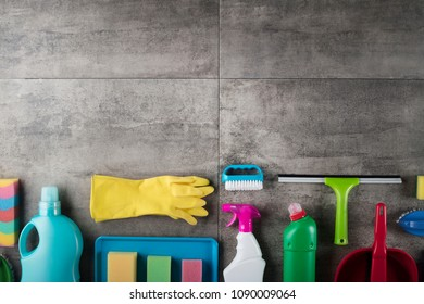 Housecleaning Concept. Place For Text.