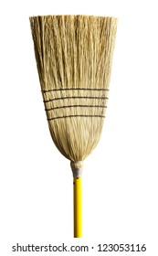 Household broom for cleaning of industrial premises and apartments.
