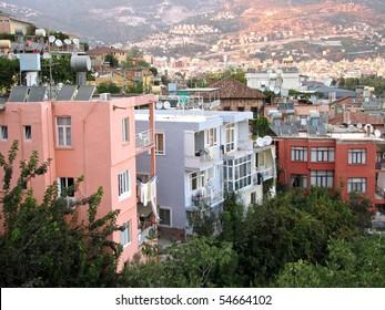 Houses in Alanya, Turkey