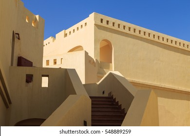 Houses in the Arabic style. Architecture in east style