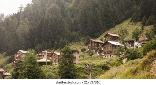 Houses in Ayder Ayder Yaylasi, Rize, Turkey