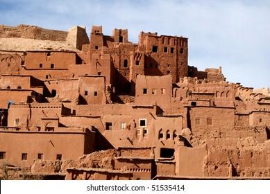 Houses in Berber Village in morocco