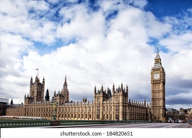 Houses of the British Parliament and Big Ben