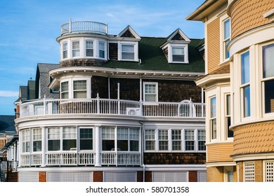 Houses in Cape May, New Jersey.