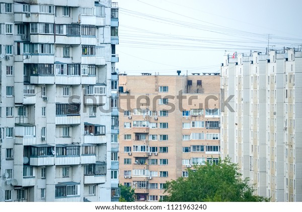 Houses in the cities of Russia