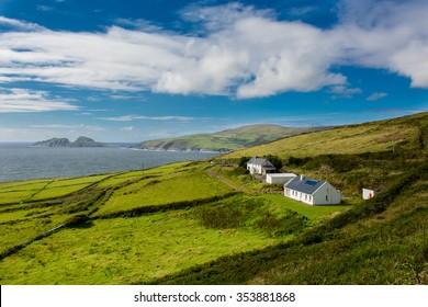 Houses at the Coast of Ireland