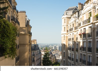 Houses in Montmartre, Paris