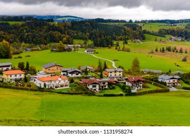 Houses and nature of Upper Austria