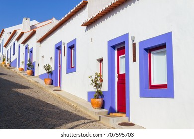 Houses in Odeceixe village, Alentejo, Portugal