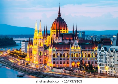 Houses of Parliament in Budapest