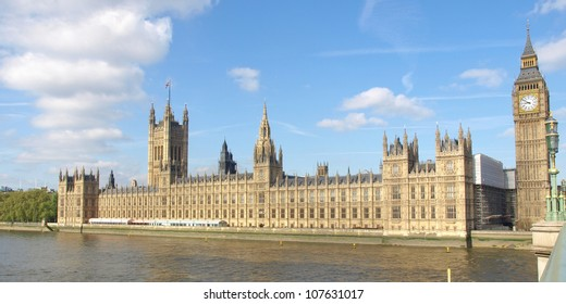 Houses of Parliament, Westminster Palace, London gothic architecture