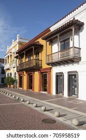 Houses in Plaza de la Aduana - Cartagena de Indias, Colombia
