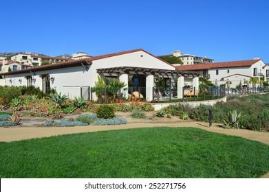 Houses in Rancho Palos Verdes, California.