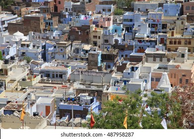 Houses and rooftops in Udaipur, India