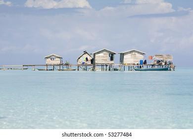 Houses of Sea Gypsies