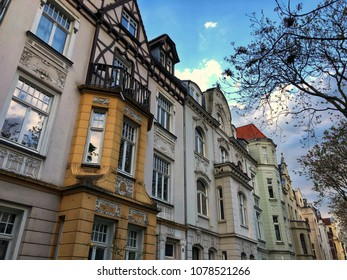 "Houses from the so-called ""Gründerzeit"" in Cologne, Germany"
