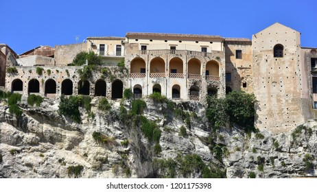 Houses in Tropea town in Calabria,south part of Italy