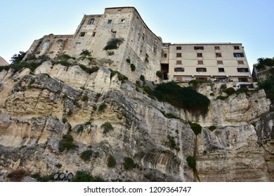 houses in village Tropea in Calabria in Italy