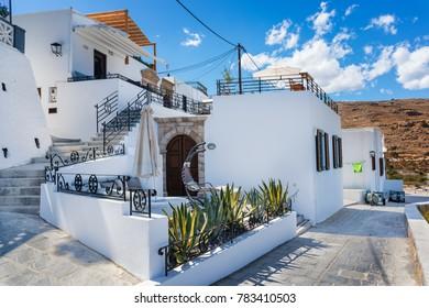 Houses/villas of Lindos village (Rhodes, Greece)
