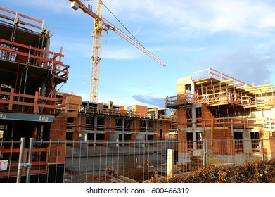 Housing construction in shell construction