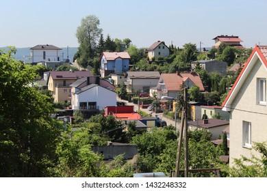 Housing estate for single-family homes