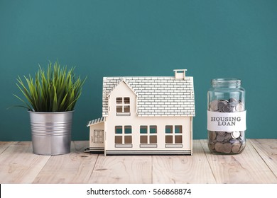 housing loan concept