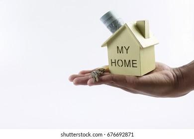 Housing loan concept.