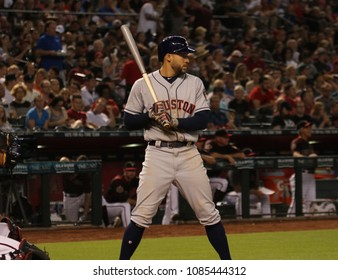 The Houston Astros at Chase Field in Phoenix,Arizona USA May 4,2018.    -D-Backs
