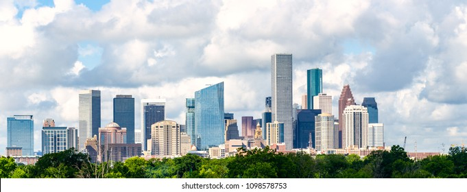 Houston, skyline cityscape