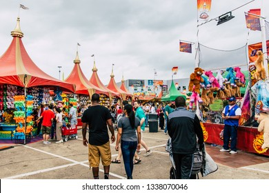 Houston, Texas - March 9, 2019 Houston Livestock Show and Rodeo