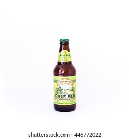 HOUSTON, TEXAS-JUL 3,2016:Sierra Nevada beer in Summer Pack 2016 Seasonal Sampler isolated on white background. Sierra Nevada Brewing Co.Its was established in 1980 by homebrewers in Chico, California