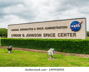 HOUSTON, TX - June 19: Johnson Space Center in Houston Texas on June 19 2019. This is where the american human space flight started,