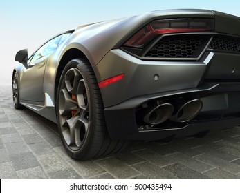 Houston TX, October 9, 2016 A Lamborghini Huracan at the Lamborghini Festival