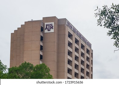 Houston TX/USA - April 17, 2020: Texas A&M University Health Science Center at the Houston Medical Center