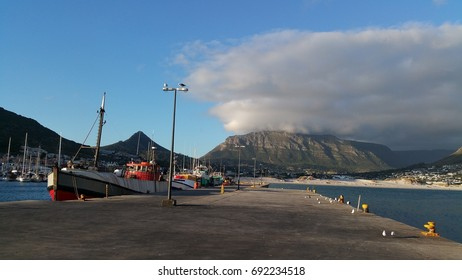 Hout Bay Harbour, near Cape Town, Western Cape, South Africa