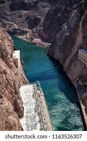 hover dam, Arizona, July 2018