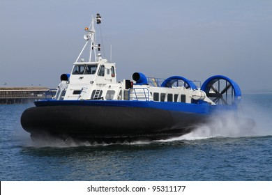 Hovercraft in Service