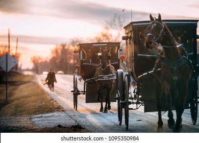 How the Amish carpool