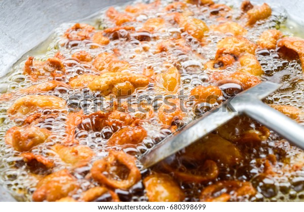 How Cook Skin Chicken Fried Snack Stock Photo (Edit Now