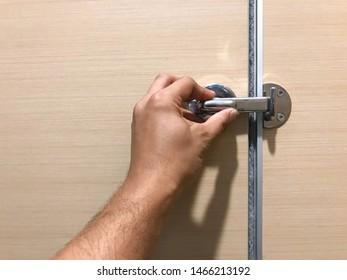 Toilet Door Lock Images, Stock Photos & Vectors | Shutterstock