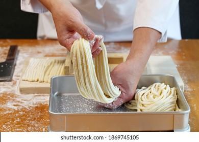 comment faire des nouilles de poudon japonaises; terminé