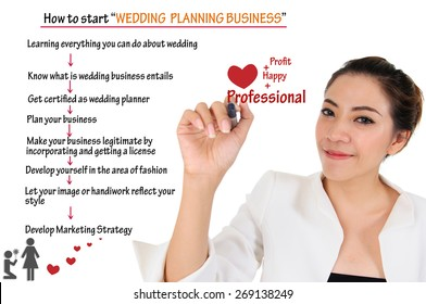 How to start wedding planning business for love concept