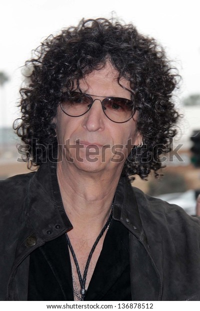 """Howard Stern at the """"America's Got Talent"""" Los Angeles Auditions, Pantages Theater, Hollywood, CA 04-24-13"""