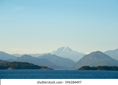 Howe Sound in British Columbia, Canada