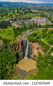 Howick, South Africa, October 19, 2012, Aerial View of Howick Falls in KwaZulu-Natal South Africa
