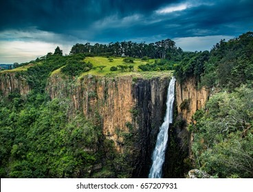 The Howick Waterfall at Howick in KwaZulu-Natal in South Africa