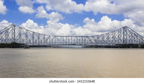 Howrah bridge or Rabindra Setu is situated on the Hoogly river or the Ganga. it is a entrance of Kolkata to Howrah. The bridge is famous symbol of Kolkata and was commissioned  in 1943.