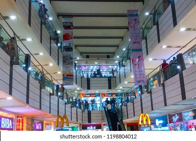 HOWRAH, WEST BENGAL , INDIA - JULY 8TH 2018 : Avani Riverside Mall, supermarket loacted at Shibpur of Howrah. It is huge retail store for common people.