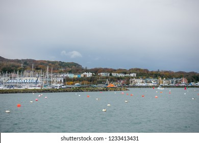 Howth bay in Ireland